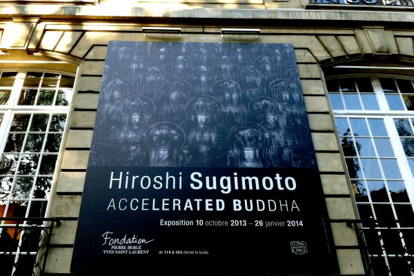 Hiroshi sugimoto accelerated buddha